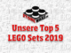 LEGO Top 5 Cover