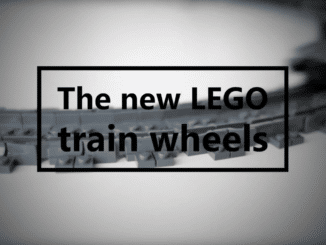 LEGO Train Wheels