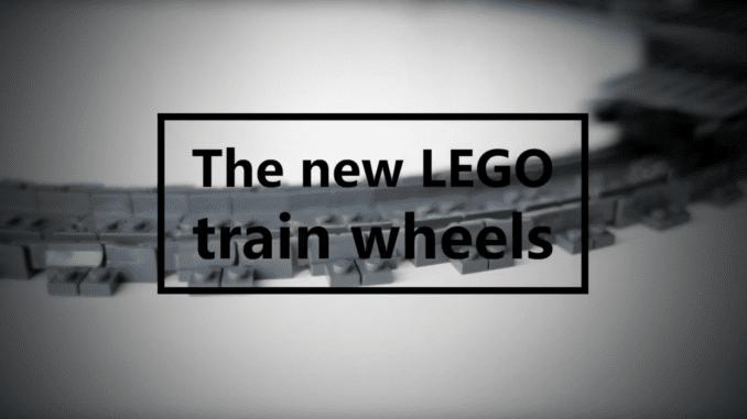LEGO Train Wheels
