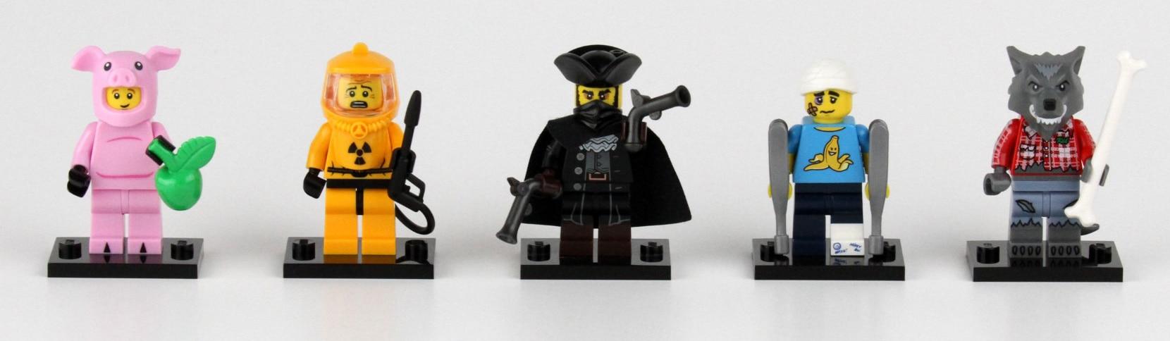 LEGO Minifiguren Adventskalender Lösung
