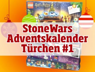 StoneWars LEGO Adventskalender Türchen #1