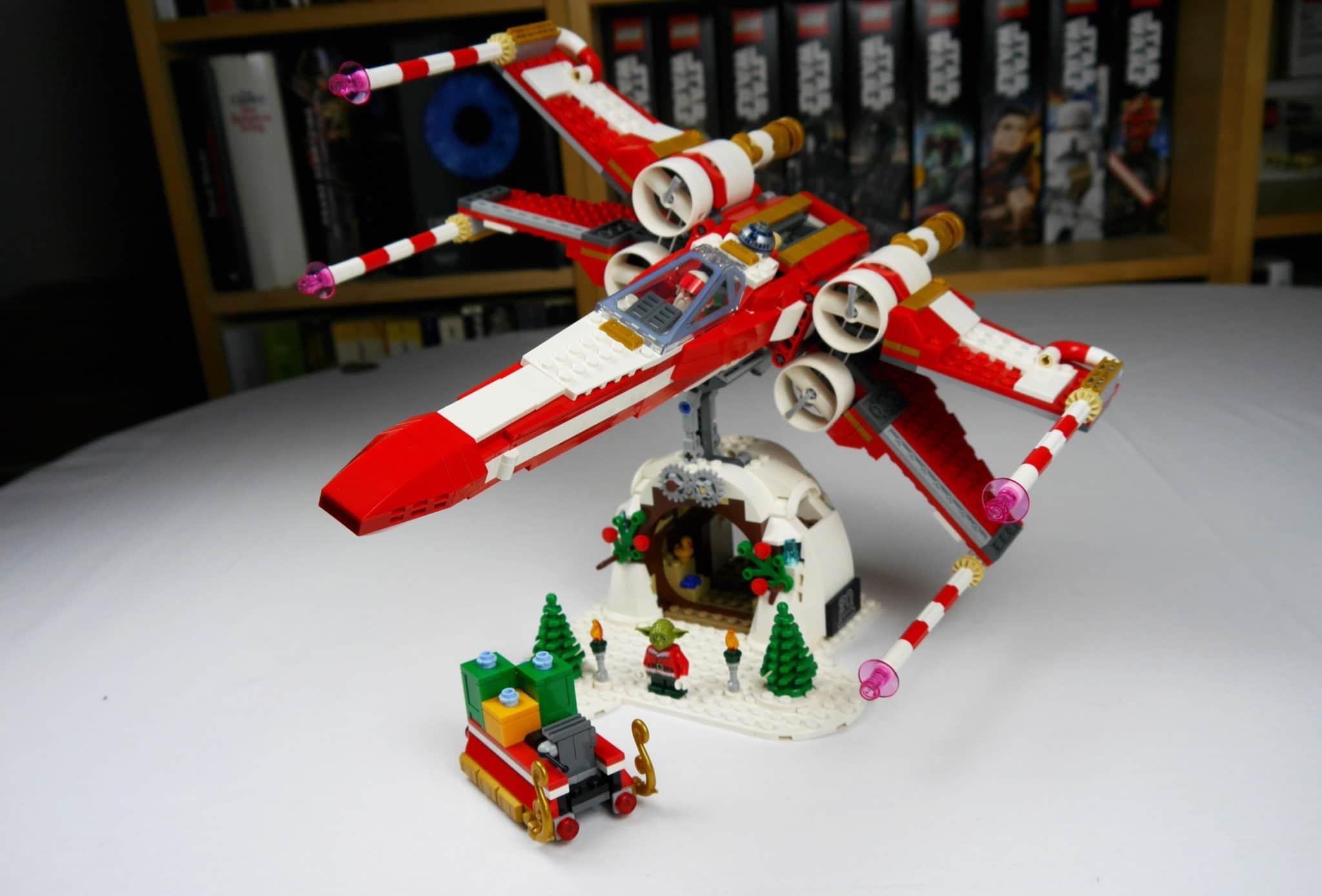 LEGO 4002019 X-Wing auf Hütte