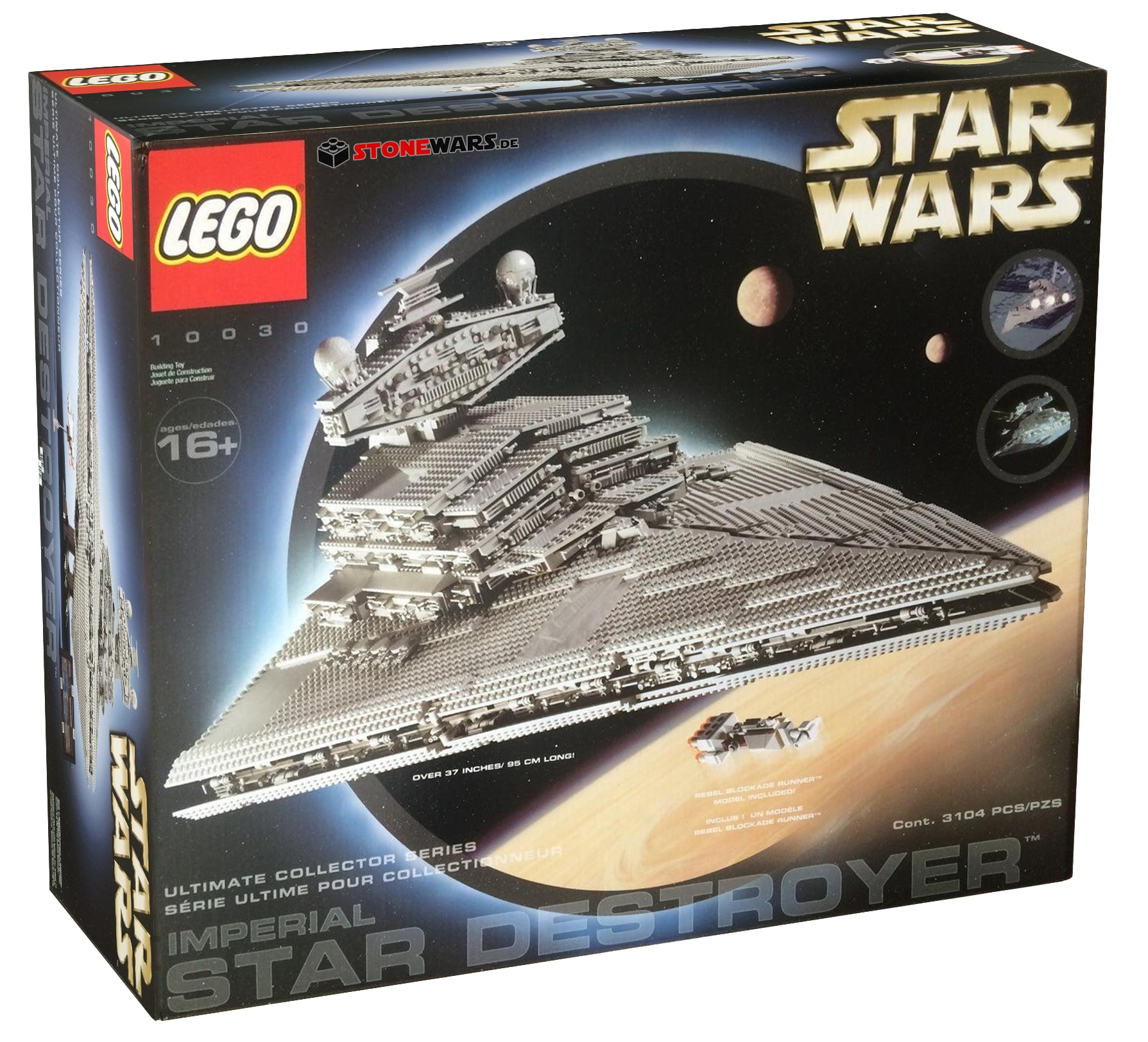 LEGO 10030 Imperial Star Destroyer Box