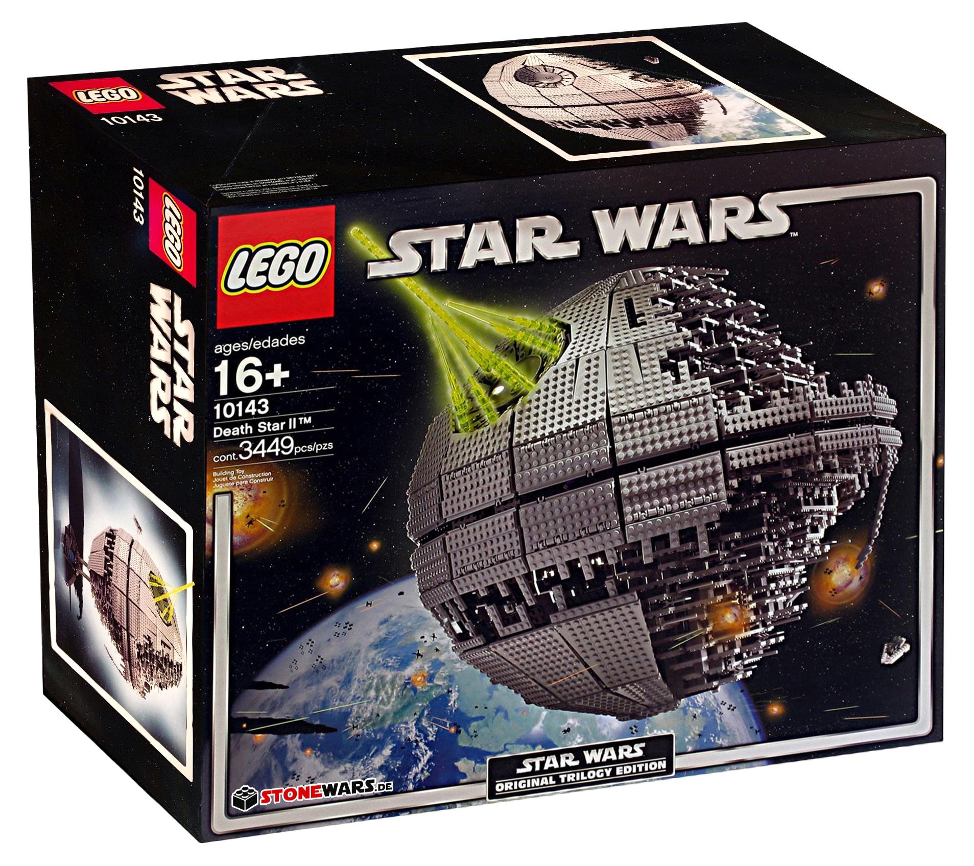 LEGO 10143 Todesstern II Box