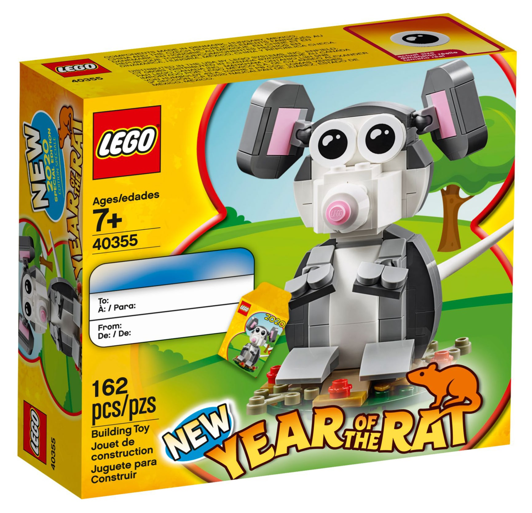 LEGO 40355 Jahr der Ratte Box