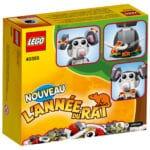 LEGO 40355 Jahr der Ratte Box Rückseite