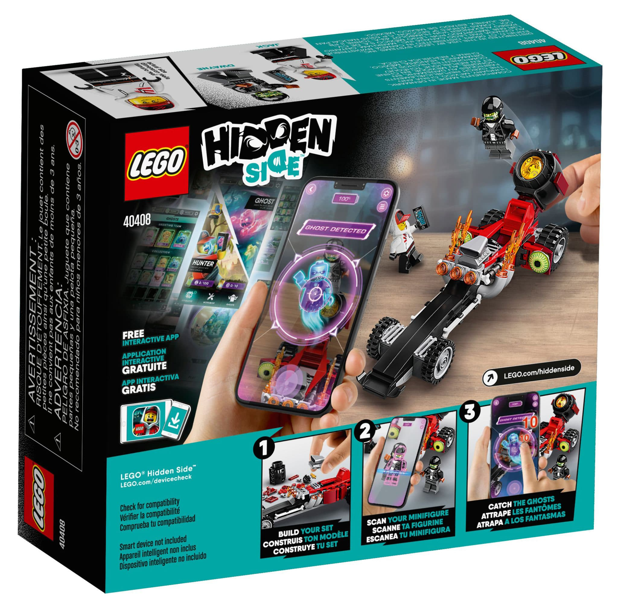LEGO Hidden Side 40408 Drag Racer