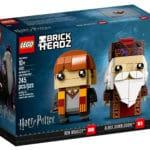 LEGO Harry Potter 41621 Ron Weasley & Albus Dumbledore BrickHeadz