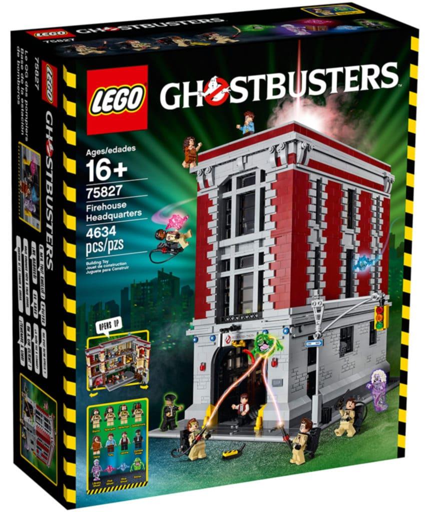 LEGO 75827 Ghostbusters Feuerwehr Hauptquartier