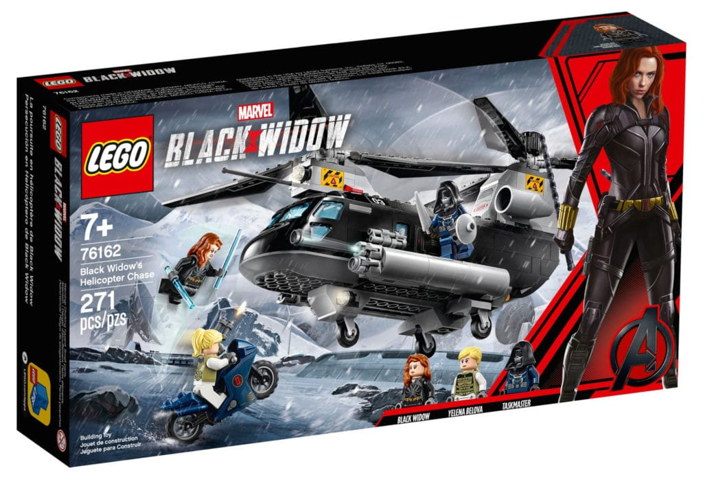 LEGO 76162 Black Widow Helicopter