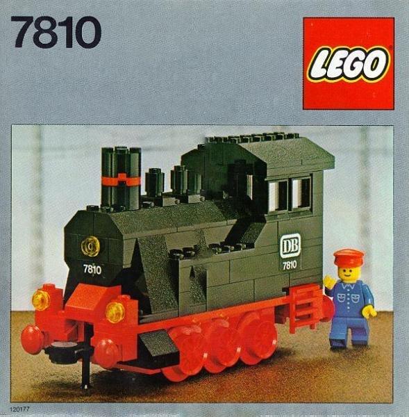 LEGO 7810 Dampflokomotive (ohne Motor)