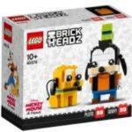LEGO BrickHeadz 40378 Goofy und Pluto Box