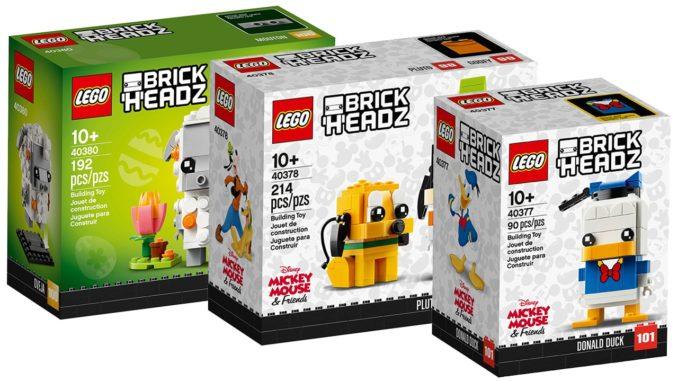 LEGO BrickHeadz im Februar 2020