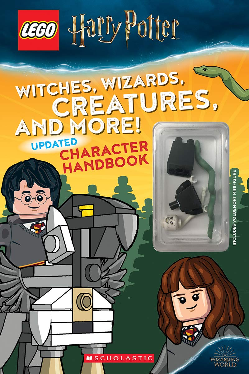 Lego Harry Potter Witches, Wizards, Creatures, and More! Updated Character Handbook
