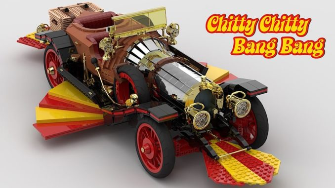 LEGO Ideas UCS Chitty Chitty Bang Bang