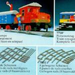 LEGO Katalog 1980 - 4,5V Züge