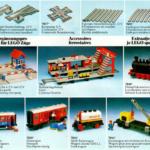 LEGO Katalog 1980 - 12V Züge - Ferngesteuertes Zubehör - Ergänzungssets