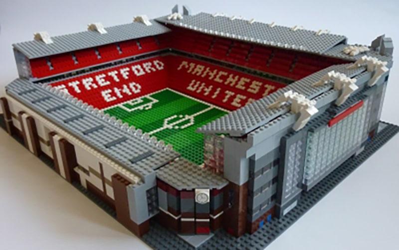 LEGO Old Trafford Stadion LEGO Ideas Entwurf