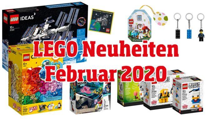 LEGO Neuheiten Februar 2020