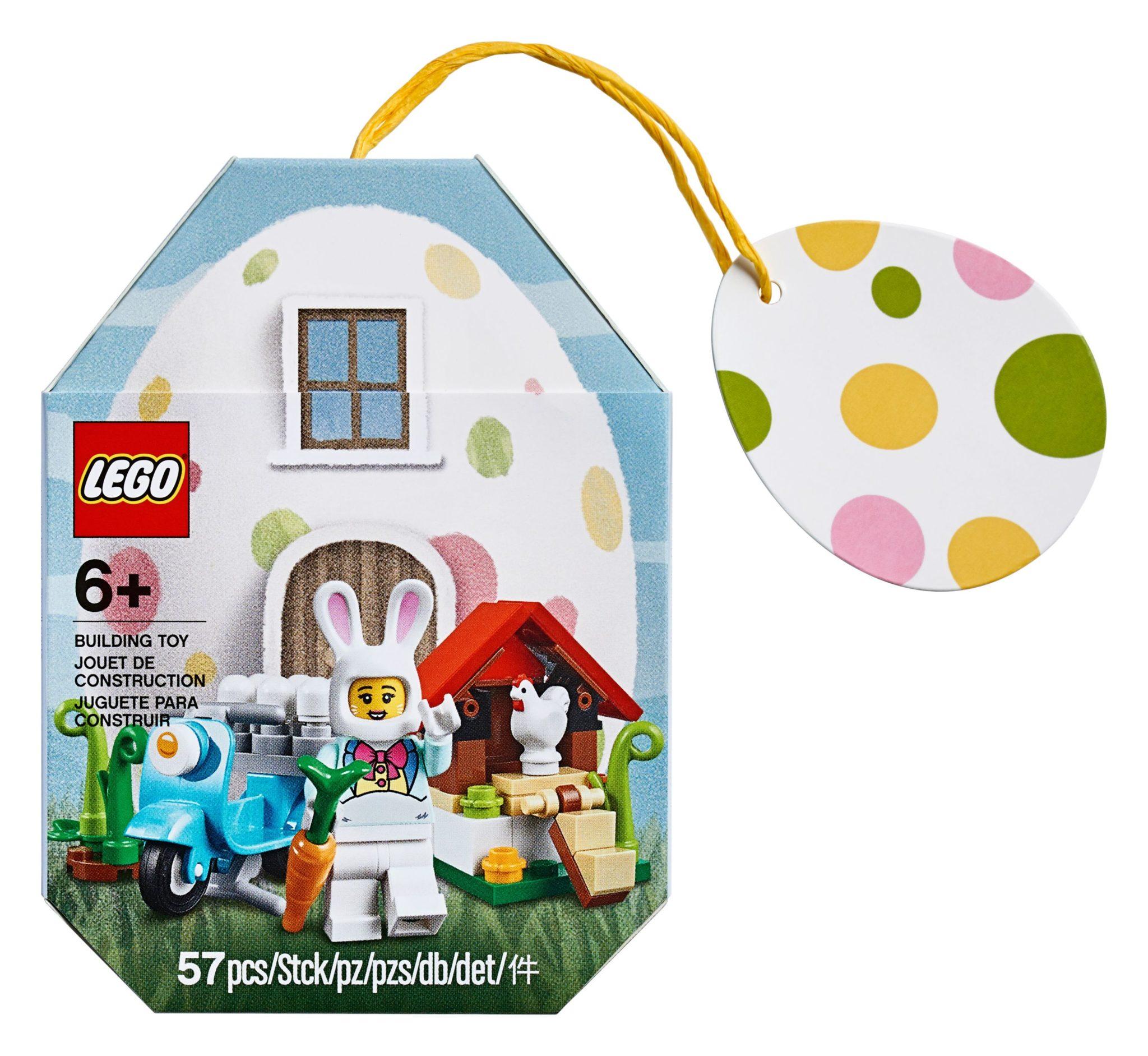 LEGO Osterhäsinnen Hütte