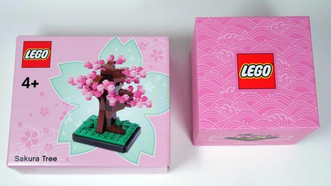 LEGO Sakura Baum als Architecture GWP