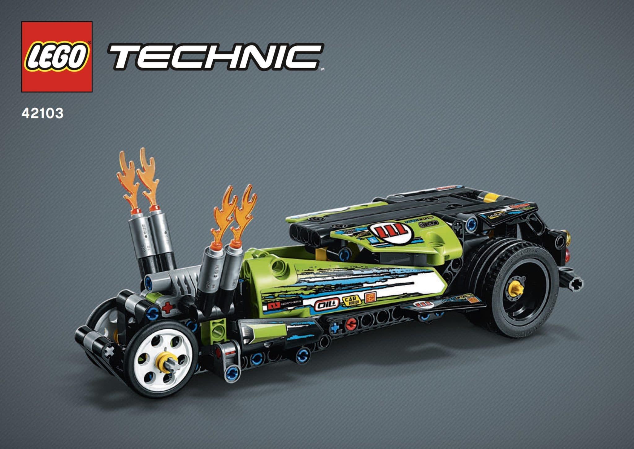LEGO Technic 42103 B-Modell
