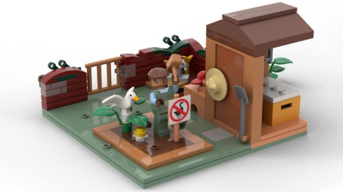LEGO Untitled Goose Game