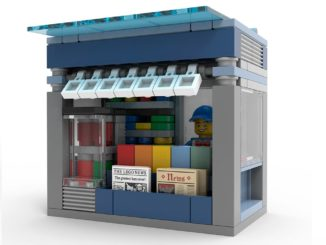 LEGO Zeitungsstand Make & Take