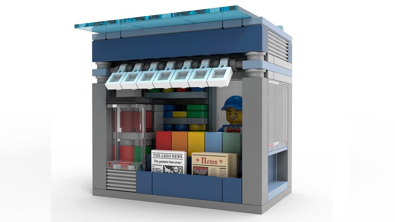 LEGO Zeitungsstand Make & Take