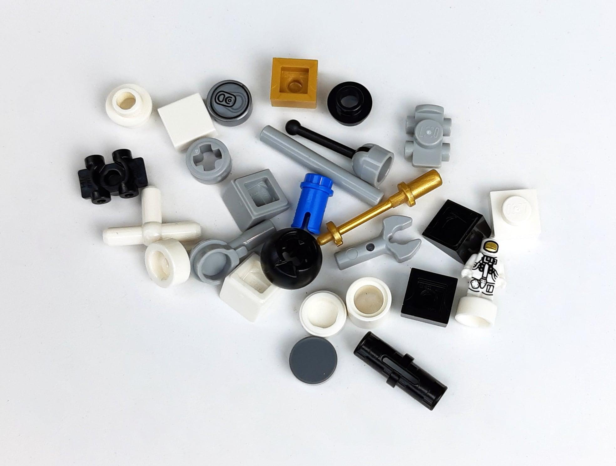 LEGO IDEAS 21321 - Übrig gebliebene Teile