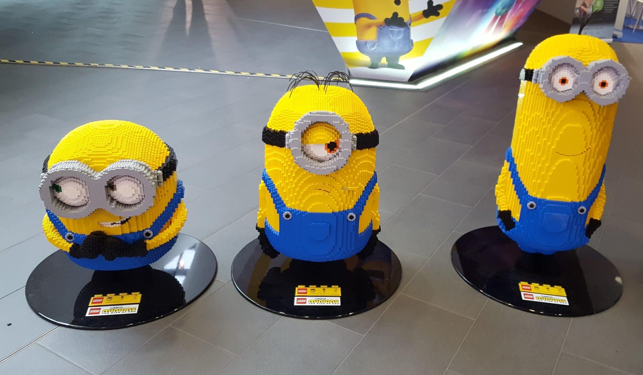 LEGO Minions auf der Spielwarenmesse Nürnberg 2020