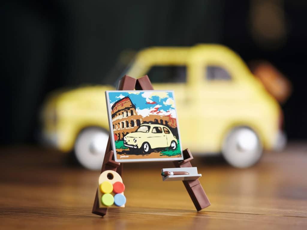 LEGO 10271 Fiat 500: Ein Teaser für das LEGO 10276 Colosseum