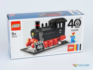 LEGO 40370 Dampfmaschine Gift with Purchase
