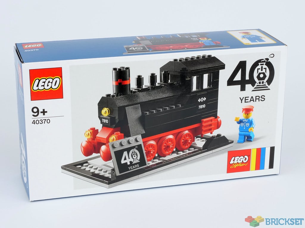 LEGO 40370 Dampflokomotive Gift with Purchase