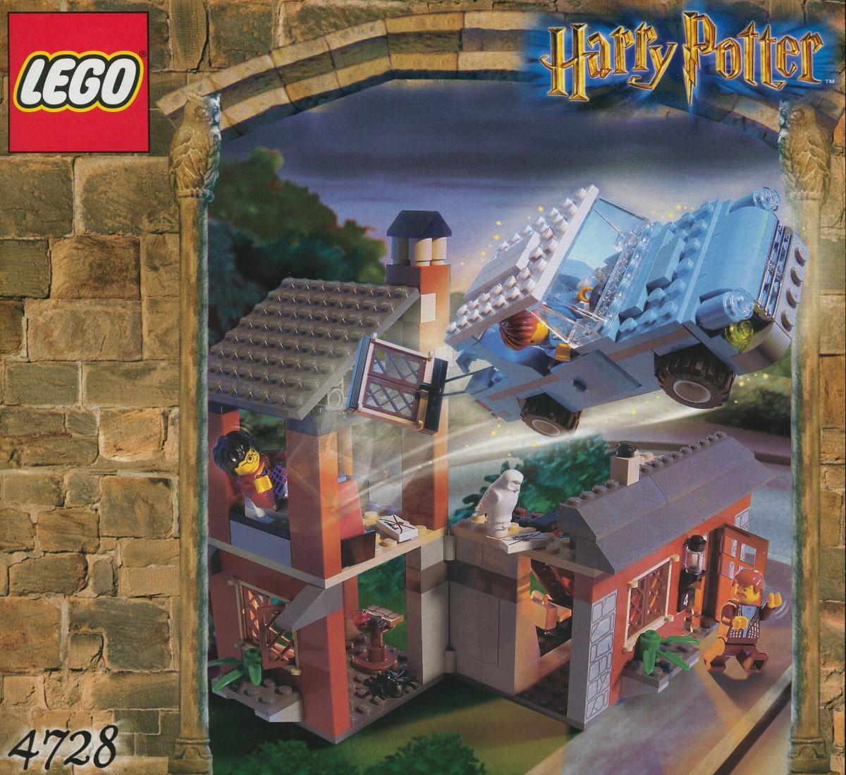 LEGO 4728 Flucht aus dem Ligusterweg von 2002