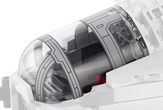 LEGO 75292 Cockpit Scheibe