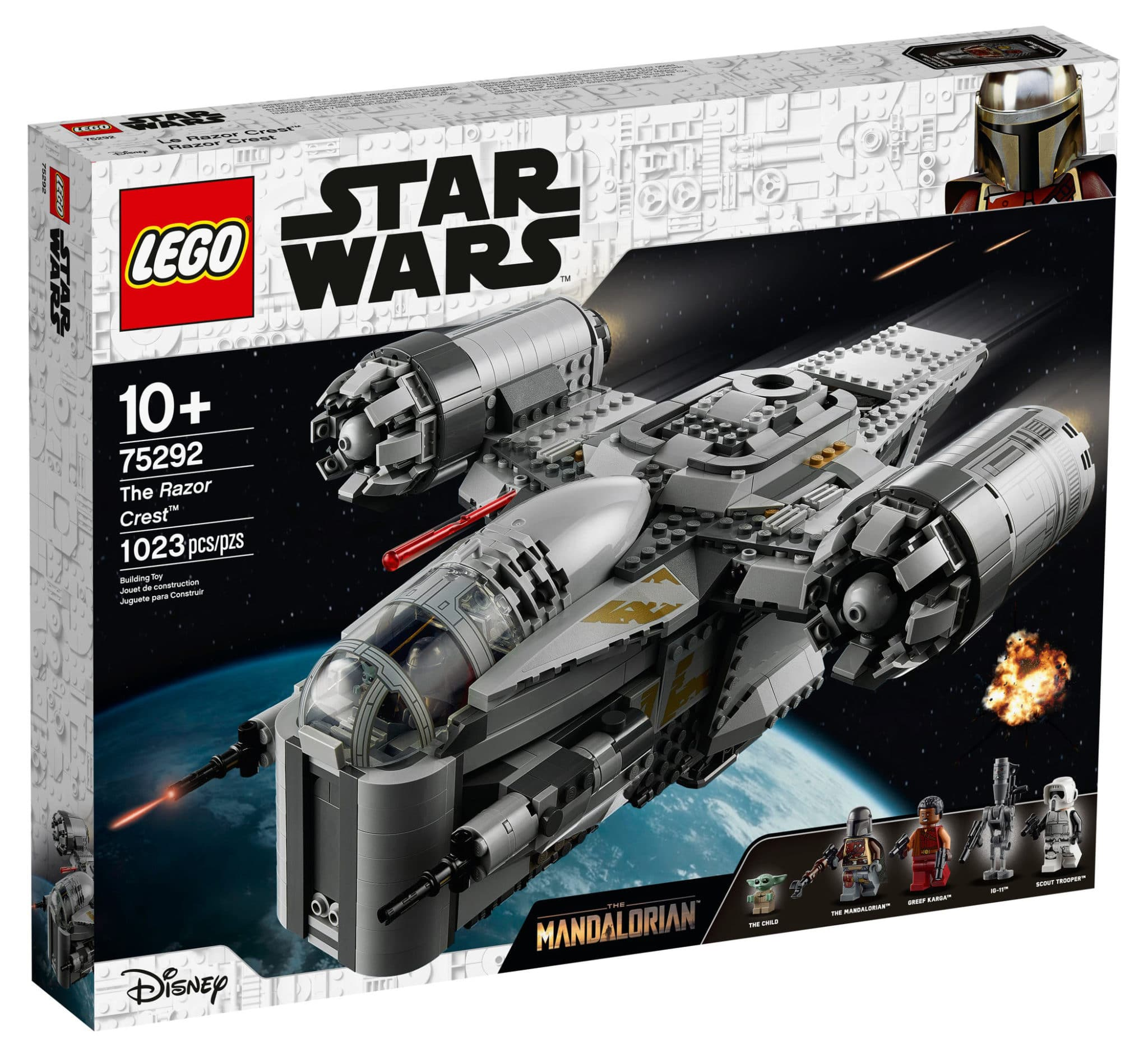 LEGO Star Wars 75292 Razor Crest Box