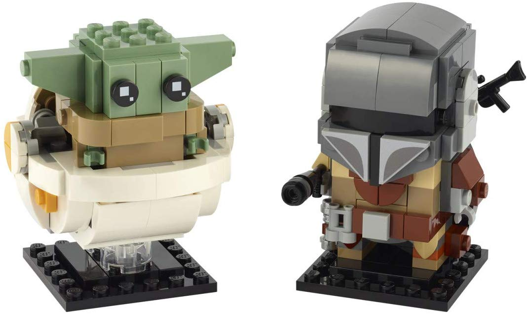 LEGO Star Wars 75317 Mandalorian BrickHead