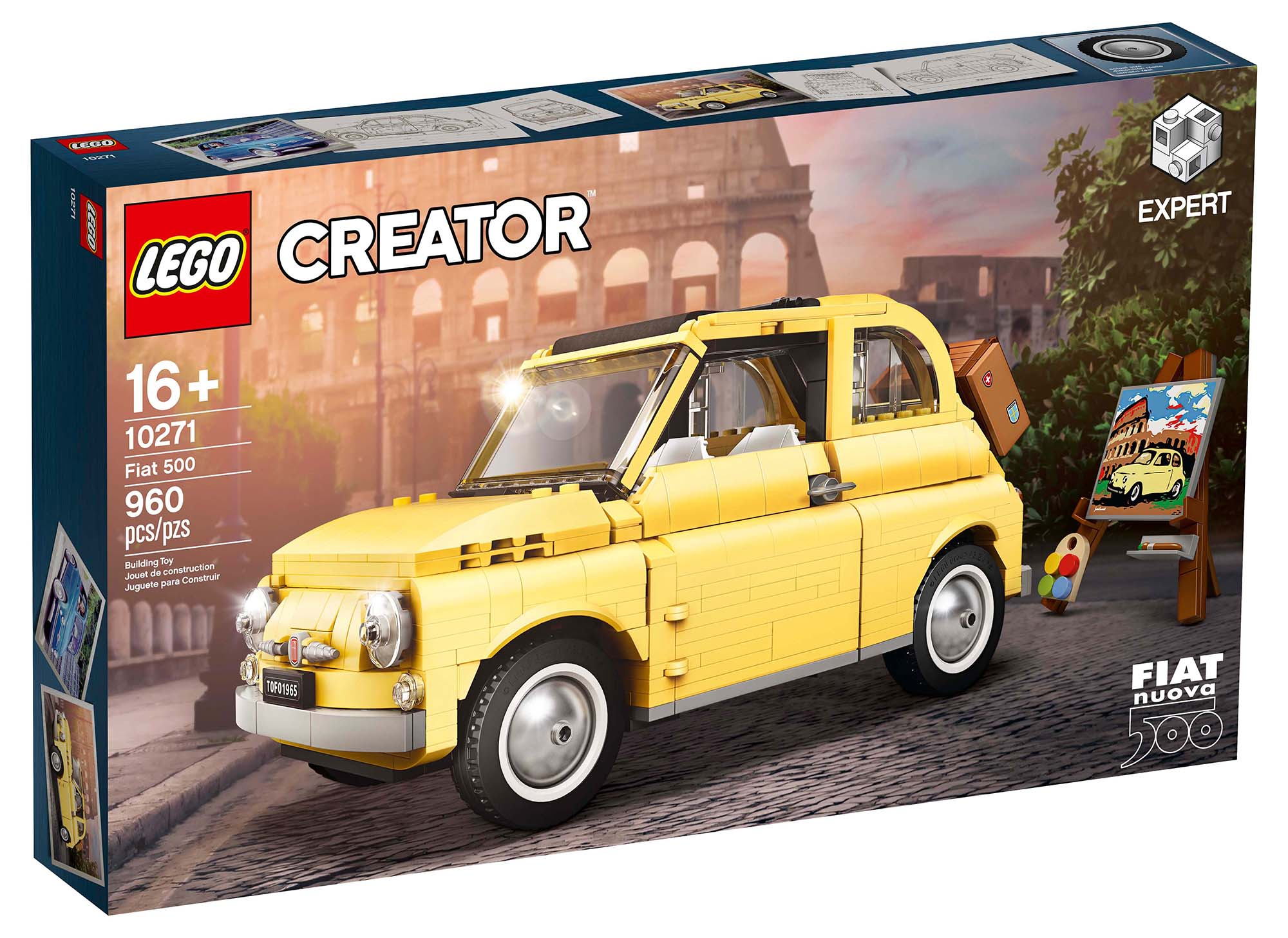 LEGO Creator Expert 10271 Fiat 500 Box