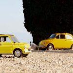 LEGO Creator Expert 10271 Fiat 500 im Vergleich zum Original