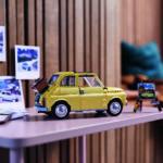 LEGO Creator Expert 10271 Fiat 500 auf dem Regal