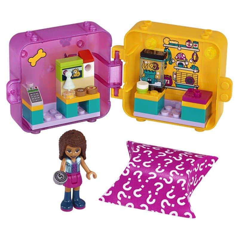 LEGO Friends 41405 - Andreas magischer Würfel - Tiergeschäft