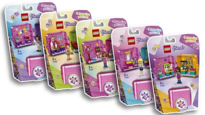 LEGO Friends Magic Cubes