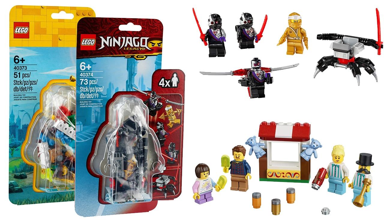LEGO Minifiguren Neuheiten 2020
