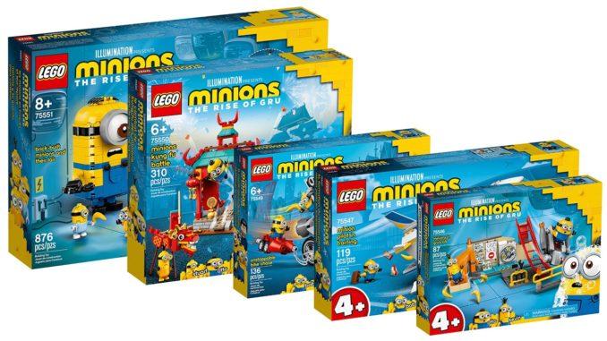 LEGO Minions Box Bilder