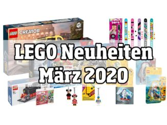 LEGO Neuheiten März 2020