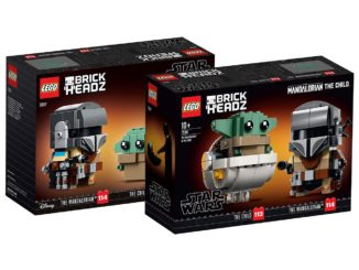 LEGO 75317 The Mandalorian BrickHeadz Box