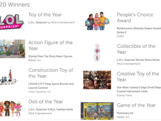 LEGO Toy of the Year Awards 2020