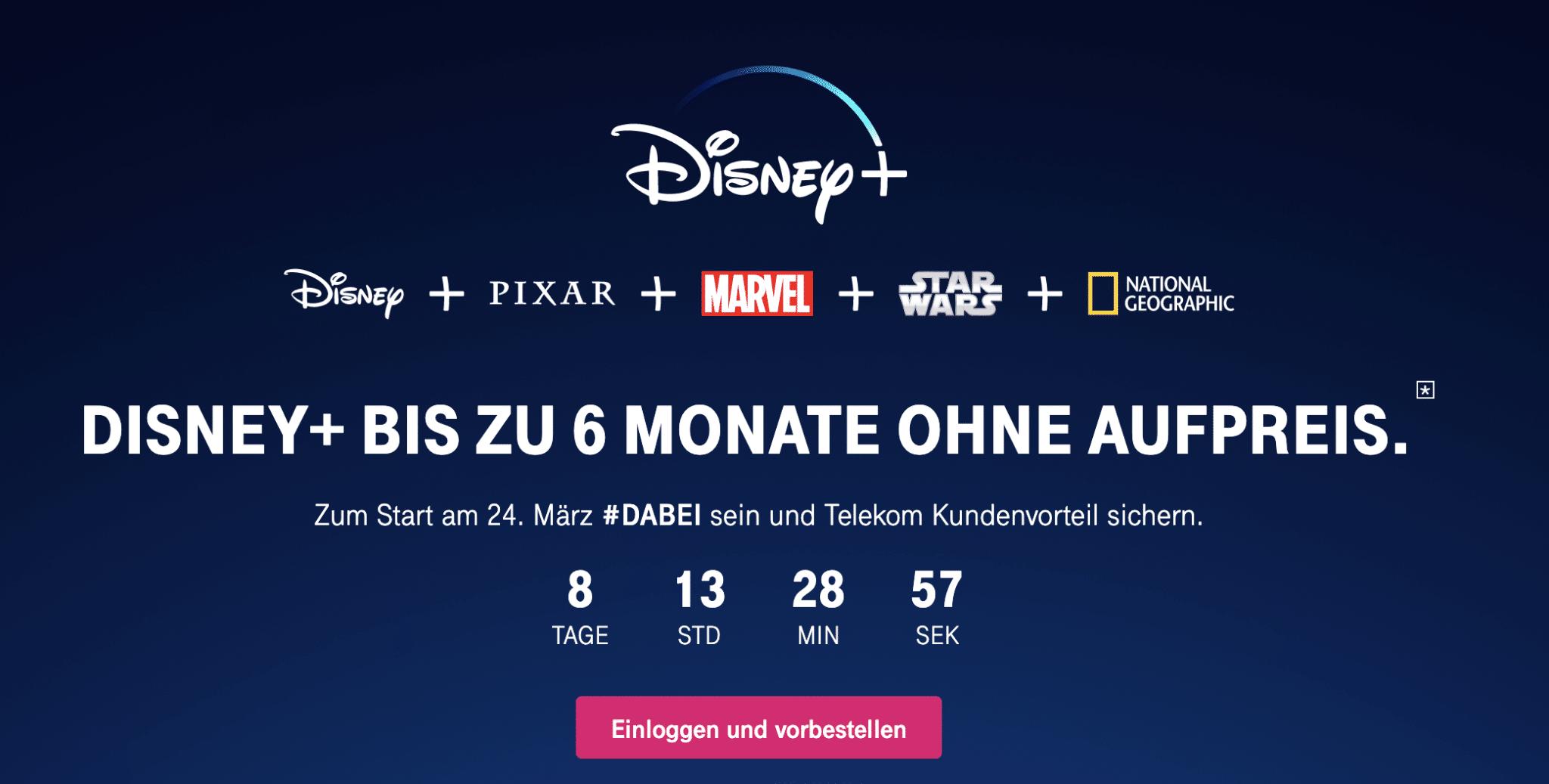 Disney Plus Telekom Abo