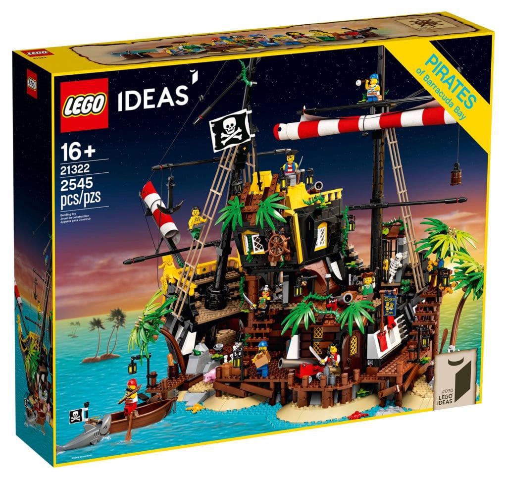 LEGO 21322 Pirate of Barracuda Bay Box (Vorderansicht)